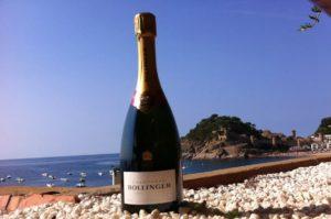 Bollinger el champagne de James Bond en Tapas del Mar